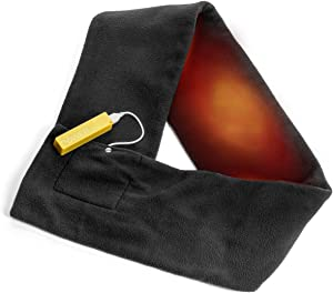 Thermo Gear Heated Scarf-Rechargeable, Black, One Size