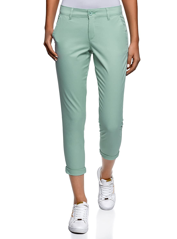 oodji Ultra Women's Cotton Chino Pants