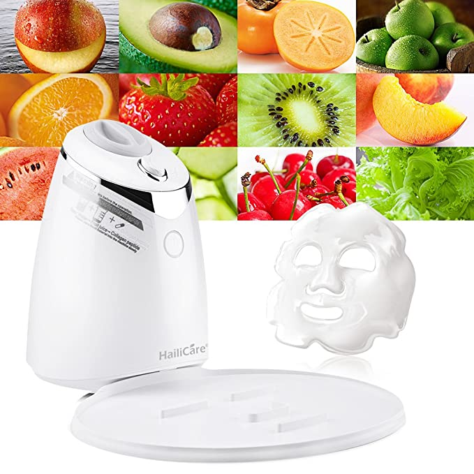 Woolala Face Mask Machine DIY Natural Fruit Vegetables Fresh Beauty Facial Mask Maker Multi-function Personal Skin Care Beauty Tool Automatic Personal Mask Making