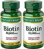Nature's Bounty Biotin 10,000 mcg