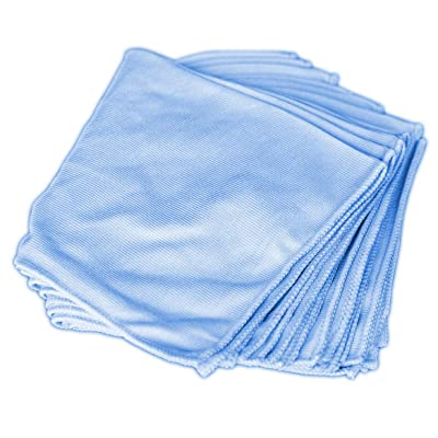 Towels by Doctor Joe DJMF5300-BL Blue 16 Inch x 16 Inch, (Pack of 12) Microfiber Towel, 12 Pack: Automotive