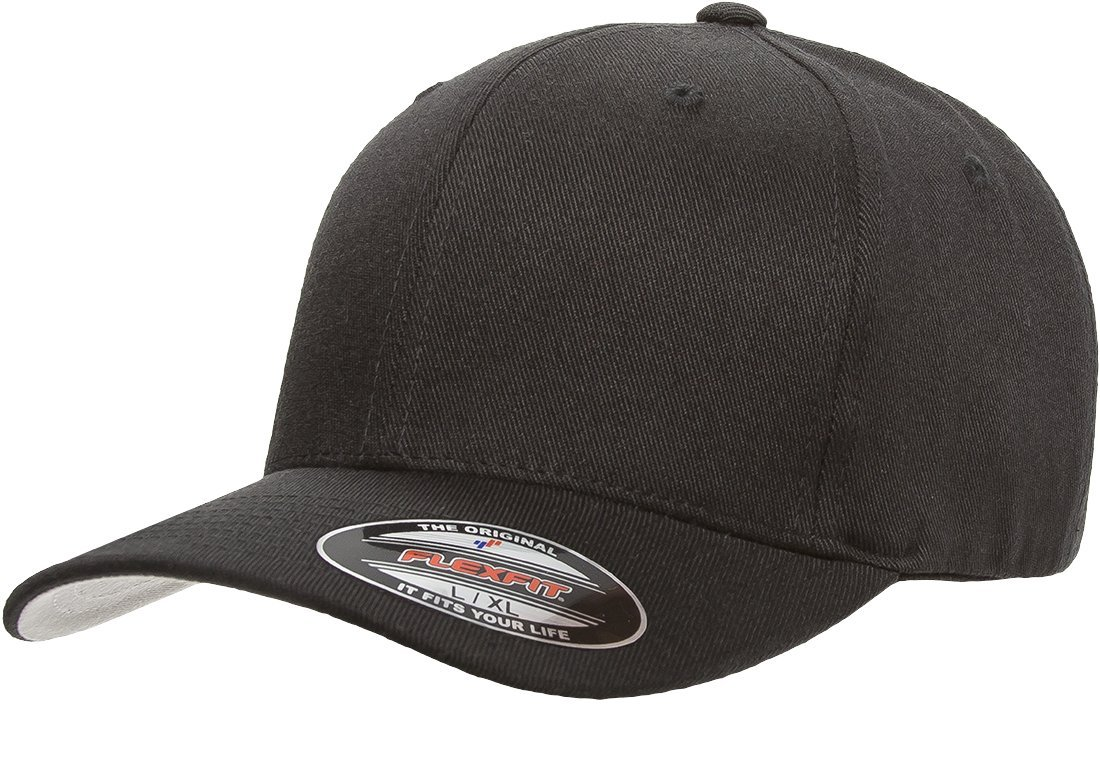 Flexfit/Yupoong Mens Standard Wool Blend Athletic Baseball Fitted Cap 6477
