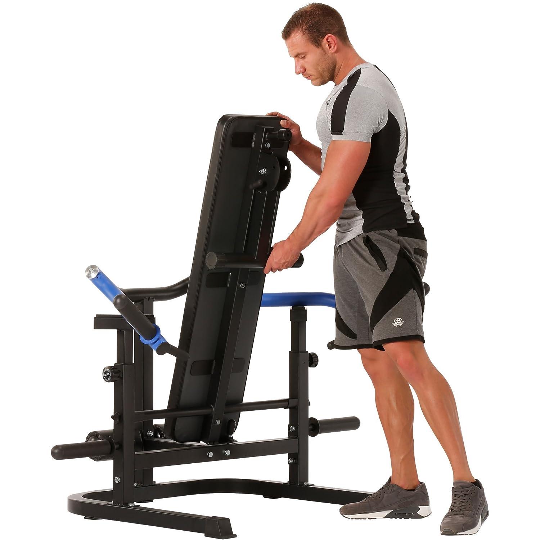 Maxxus g de Motion - Banco de entrenamiento para ejercicios de tracción y de drück, - Banco, Press de banca, auxiliares, con y sin Banco.