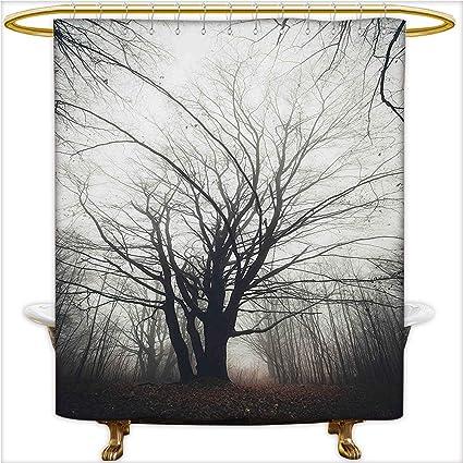 Amazon Com Qinyan Home Shower Curtain Spa Vertical Photo Of