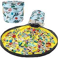 Bolsa de Almacenamiento de Juguetes Upkey Kids Toys Organizer Storage Children Play Mat Bolsa de Juguetes para Niños…