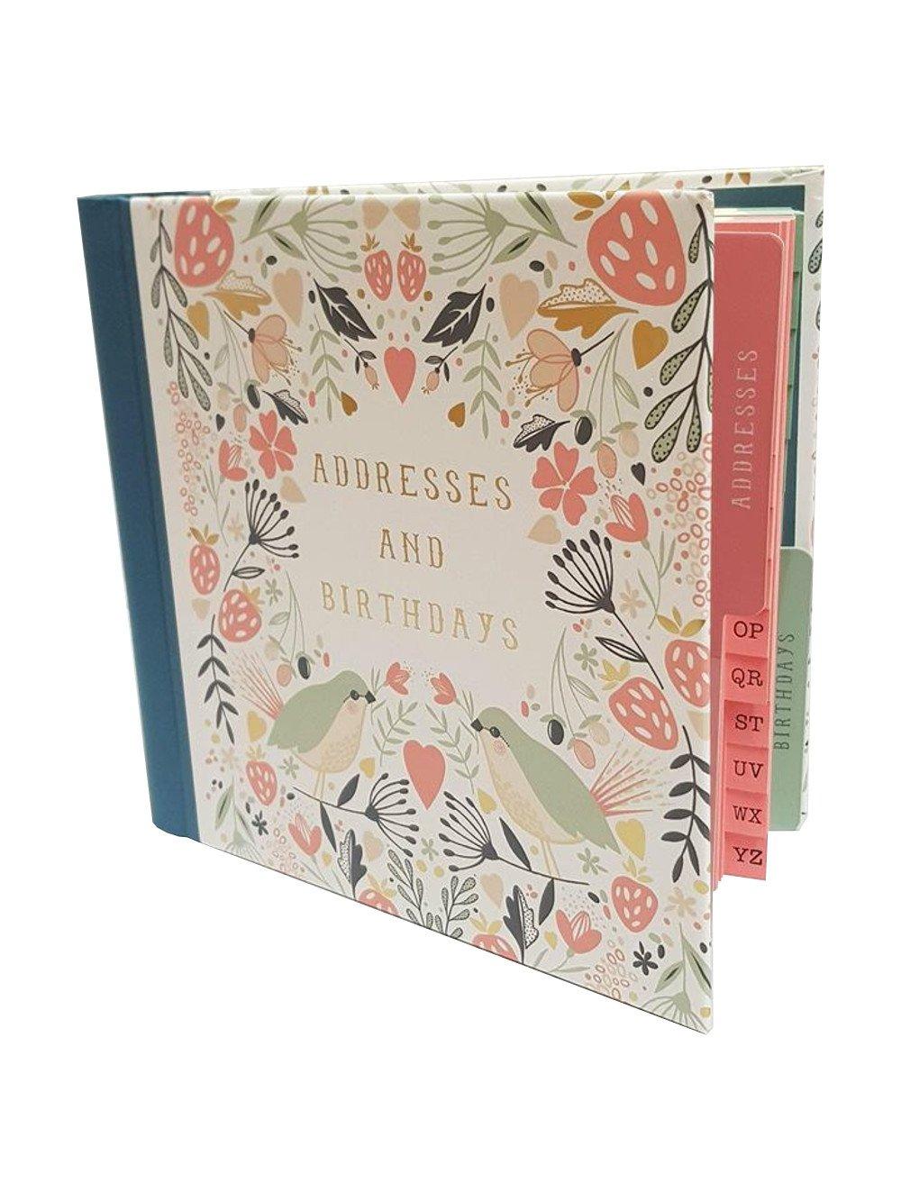 Art File Wild Berry Address & Birthday Card Book
