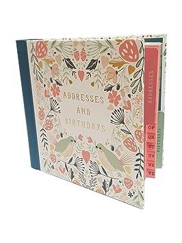 Marvelous Art File Wild Berry Address Birthday Card Book Amazon Co Uk Personalised Birthday Cards Bromeletsinfo