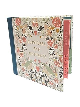 Art File Wild Berry Address Birthday Card Book Amazon