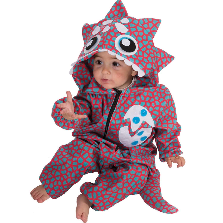 Nines d´Onil Kinder Kostüm Baby Dinosaurier Dino 18-20 Monate Kleinkind Fasching Karneval Babykostüm Nines d'Onil