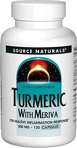 Turmeric with Meriva 500mg For Healthy Inflammatory Response – 120 Capsules