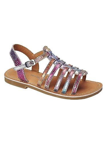 8bf44c191b5 Vertbaudet Sandales Cuir Fille Rose 38  Amazon.fr  Chaussures et Sacs