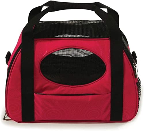 Gen7Pets Carry Me Pet Carrier for Dogs and Cats Easy Portability, Water Bottle Pouch, Zippered Pocket and Fits Under Most Airline Seats