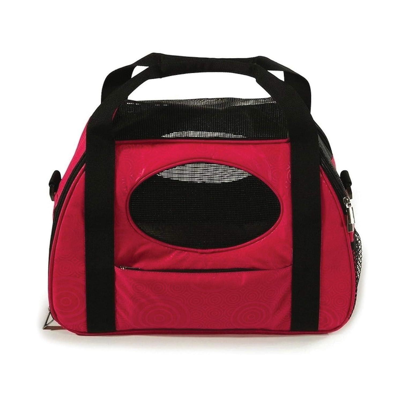 Rasberry Sorbet Gen7 Pets Carry-Me Fashion Pet Carrier, Large, Raspberry Sorbet