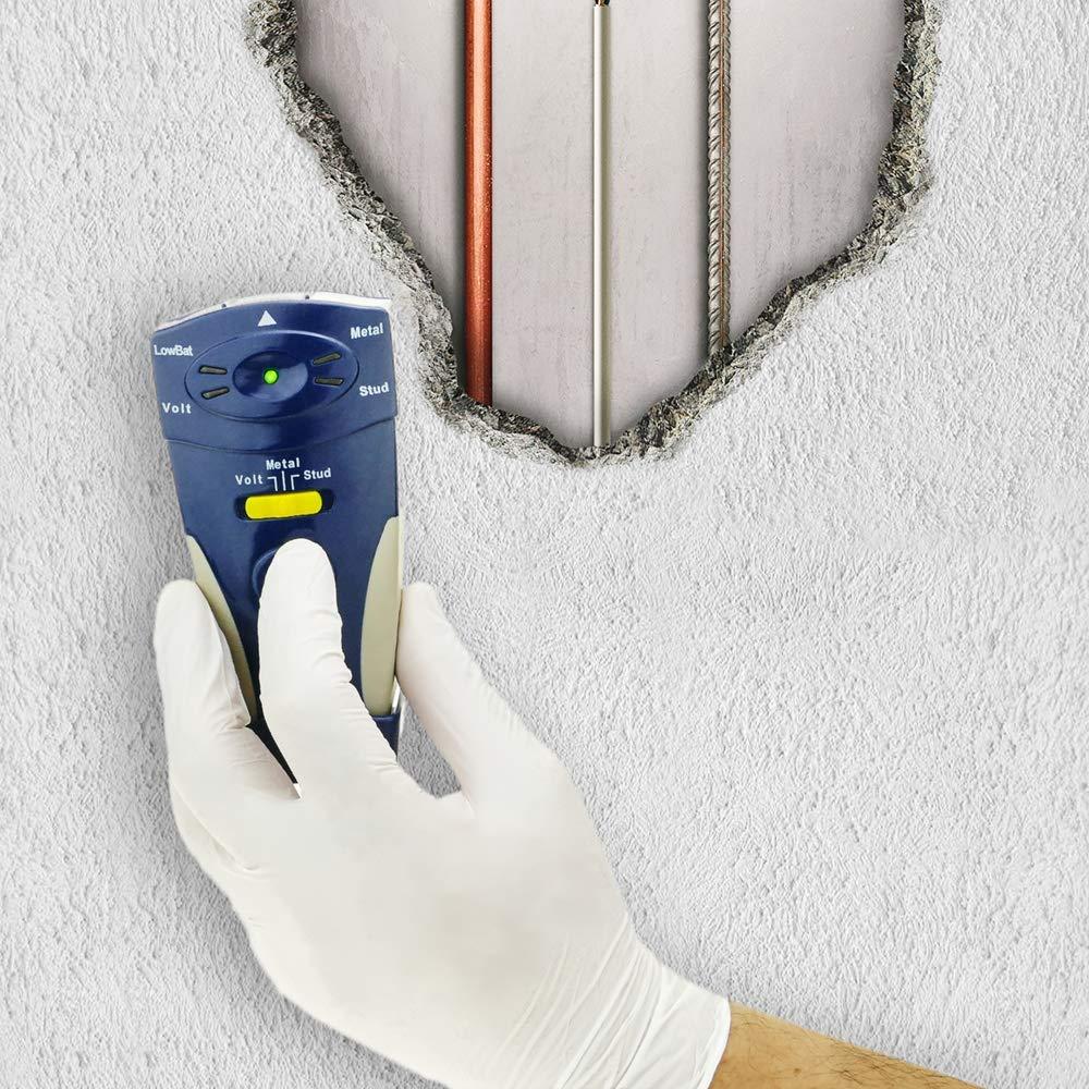 BeMatik - Detector múltiple de metal madera cables voltaje para instalaciones empotradas: Amazon.es: Electrónica