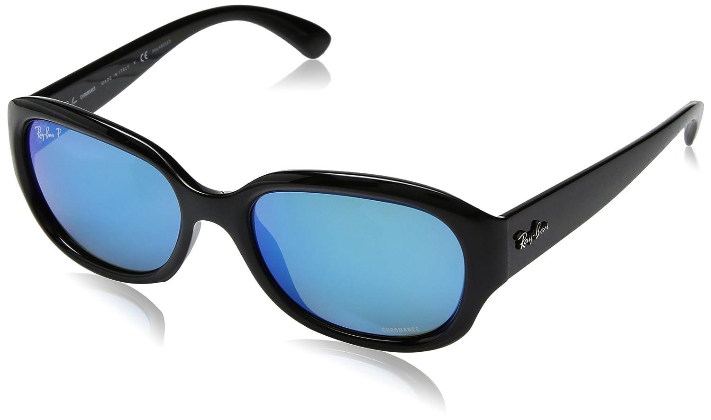 RAY-BAN 0Rb4282Ch Gafas de sol, Black, 55 para Mujer: Amazon ...