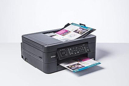 Brother Impresora multifunción 3 en 1 de inyección de Tinta Negro DCP-J491DW: Amazon.es: Informática