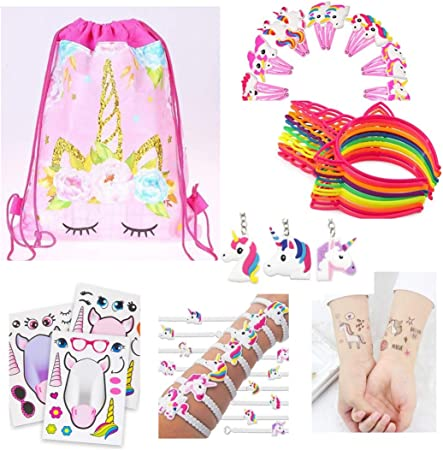 Amazon.com: 74 unidades. The Ultimate Unicorn Party Supplies ...