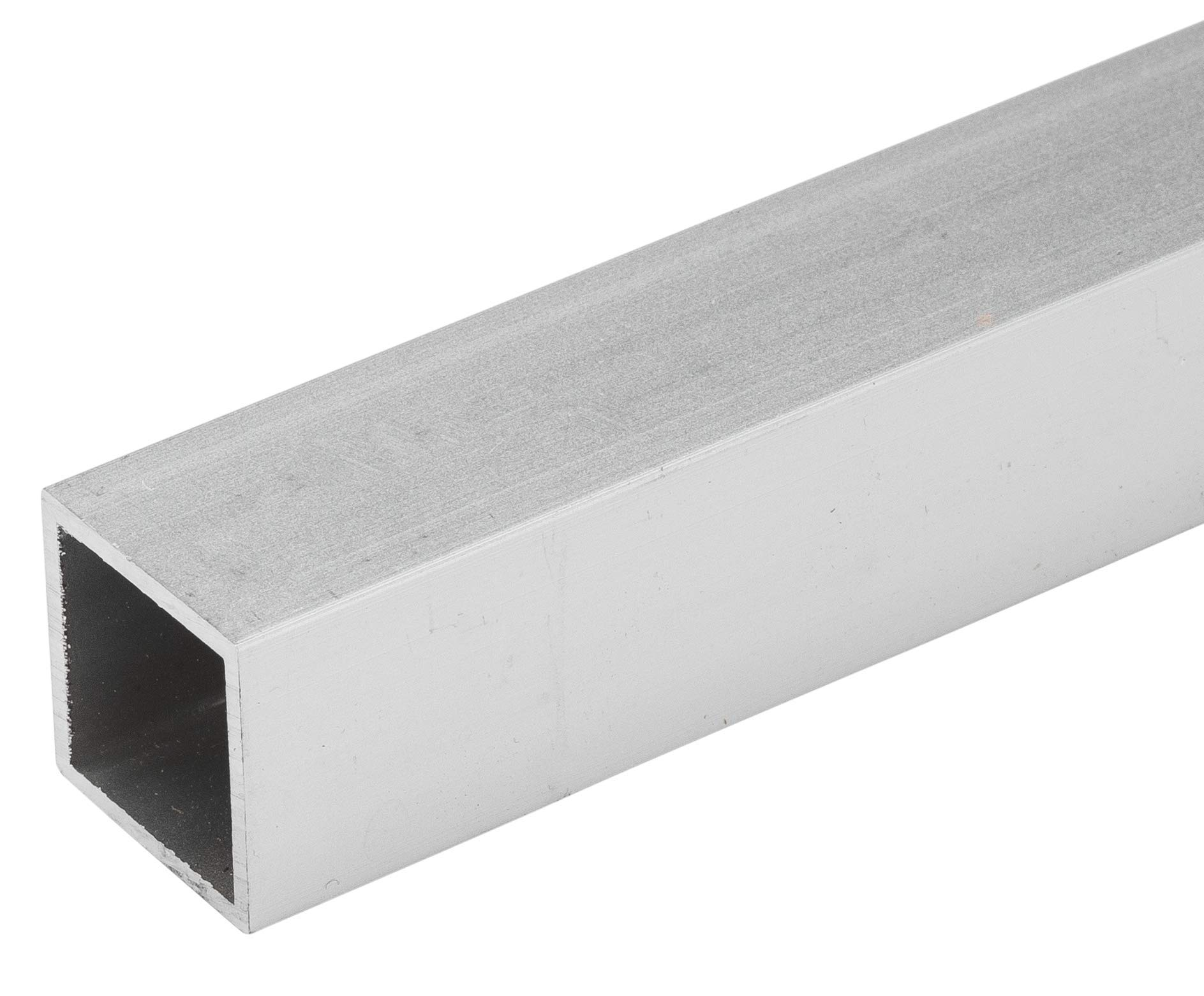 4 FT (48'') 1'' Square Tubing .050'' Wall (3 Pack) Clear Anodized Aluminum by Randall Manufacturing Co., Inc