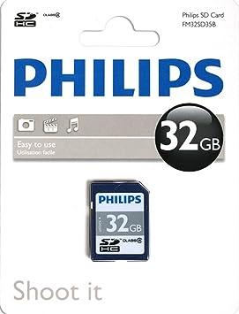 Philips SD C4 - Tarjeta de memoria SDHC de 32 GB: Amazon.es ...