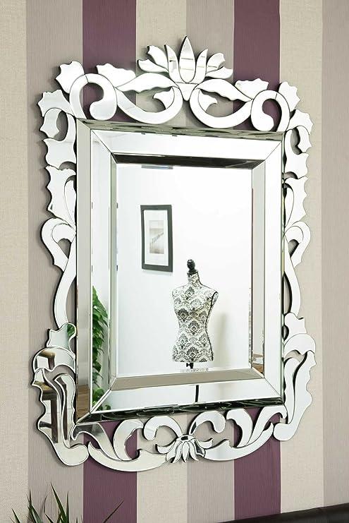 Grande Francese Stile Barocco Veneziano Specchio: Amazon.it: Casa e ...