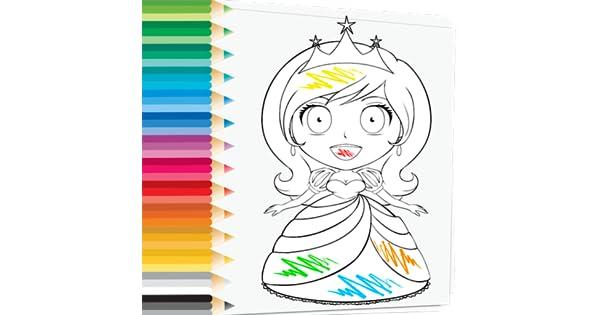 Prince Princess Coloring Book Princesas Bonitas Do Amor Gosta