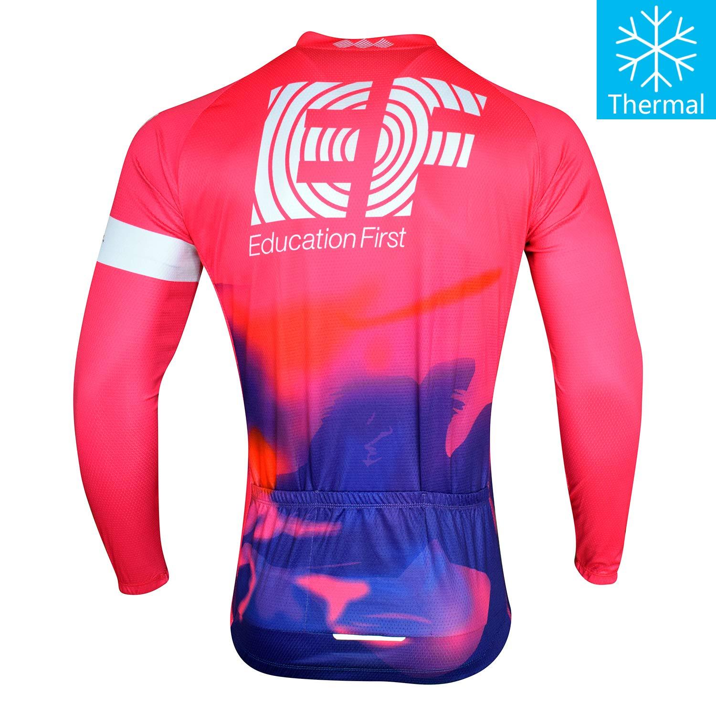Thriller Rider Sports Mountain Bike Winter Warm Thermal Long Sleeve Jacket