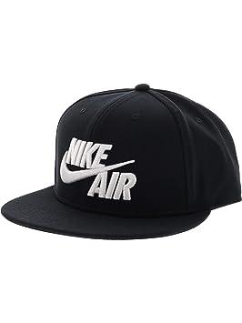 d90bcf6e2 Nike Air True EOS Gorra de Tenis, Hombre, Negro Black/White, Talla Única:  Amazon.es: Deportes y aire libre