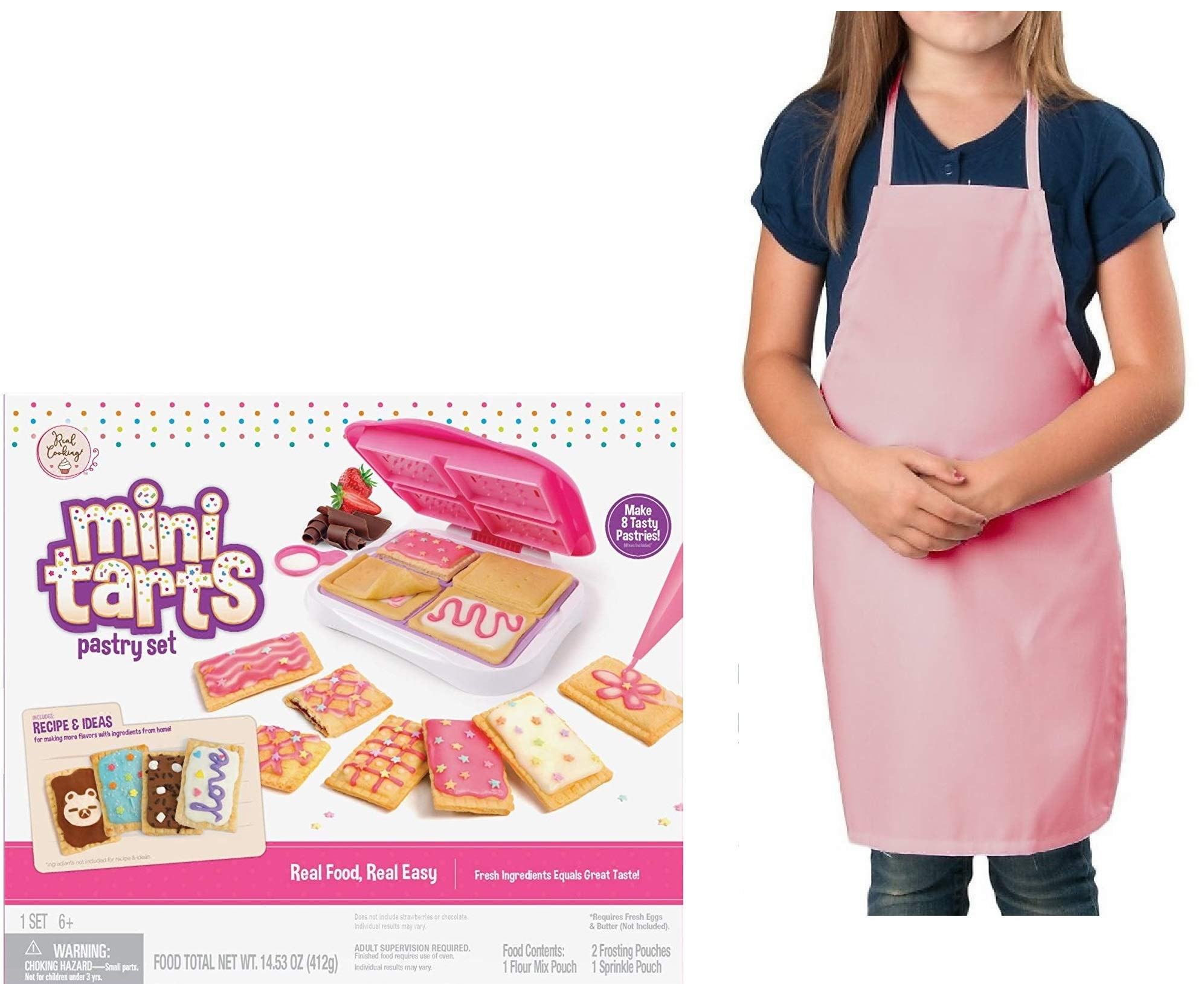 My Favorite Toys Mini Tarts Pastry Making Set for Kids - Make Tarts, Pop in The Oven and Enjoy