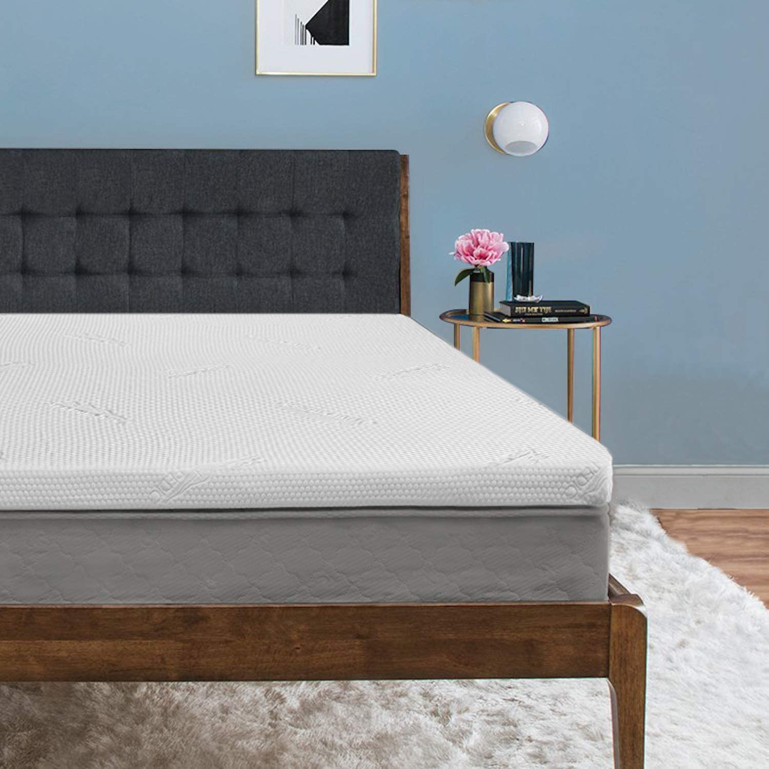 Tempur-Pedic TEMPUR-ProForm Supreme 3-Inch King Mattress Topper, Medium Firm Luxury Premium Foam, Washable Cover