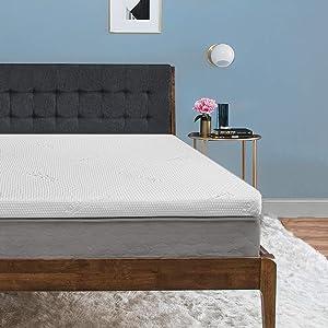 Tempur-Pedic TEMPUR-ProForm Supreme 3-Inch Full Mattress Topper, Medium Firm Luxury Premium Foam, Washable Cover