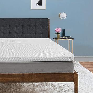 size 40 4f968 84da0 Tempur-Pedic TEMPUR-ProForm Supreme 3-Inch Twin Mattress Topper, Medium  Firm Luxury Premium Foam, Washable Cover