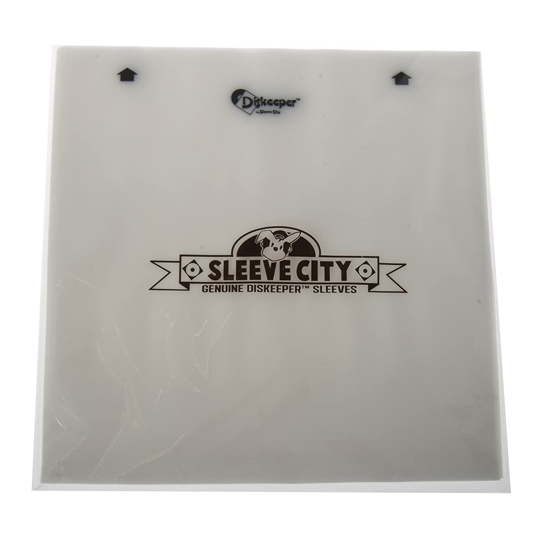 Diskeeper 2.0 Antistatic Record Sleeves (50 Pack) Sleeve City 9235