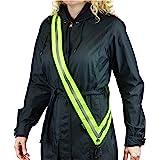 MOONSASH – Made in USA > Original Patented Reflective Sash > Reversible, Stylish, Durable, No-Fuss Night Safety Walking Gear