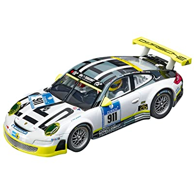 Carrera 27543 Evolution Analog Slot Car Racing Vehicle - Porsche 911 Gt3 RSR Manthey Racing Livery (1: 32 Scale): Toys & Games [5Bkhe1804555]