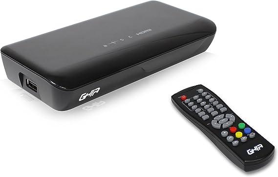 Ghia AC-4466 TV Set-Top Boxes Cable Negro - Reproductor/sintonizador (Cable, NTSC, Negro, Digital, 1 sintonizador(es), 8 W): Amazon.es: Electrónica