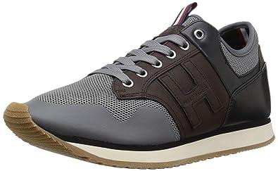 Tommy Hilfiger Montez Sneaker, Grey, 7 M US