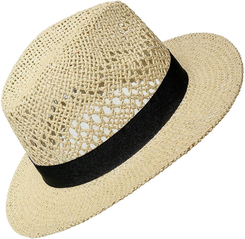 ONLY Damen Strohhut Panama-Hut Sonnenhut Sonnenschutz