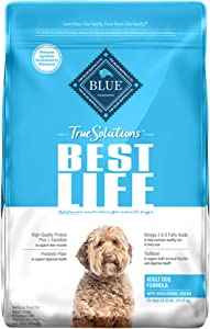 Blue Buffalo True Solutions Best Life Natural Medium Breed Adult Dry Dog Food and Wet Dog Food, Chicken