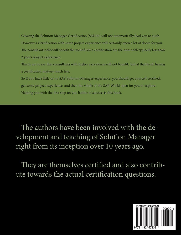 Sap certified solution manager associate configuration for sap certified solution manager associate configuration for operations for sap solution manager 71 d needam sukhpreet k 9781482573381 amazon 1betcityfo Choice Image