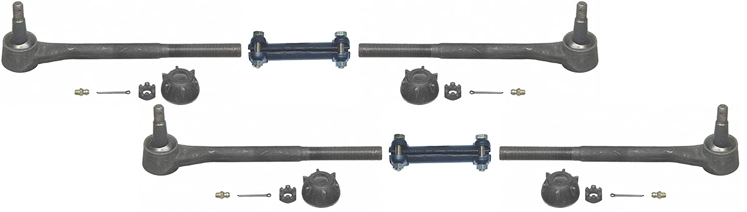 NEW 64-70 GM A-BODY TIE ROD LINKAGE KIT WITH ADJUSTING SLEEVES,CHEVELLE,CUTLASS