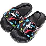 Toddler Boys & Girls Shower/Pool Slide Sandals Non-Slip Summer Slippers Lightweight Beach Water Shoes