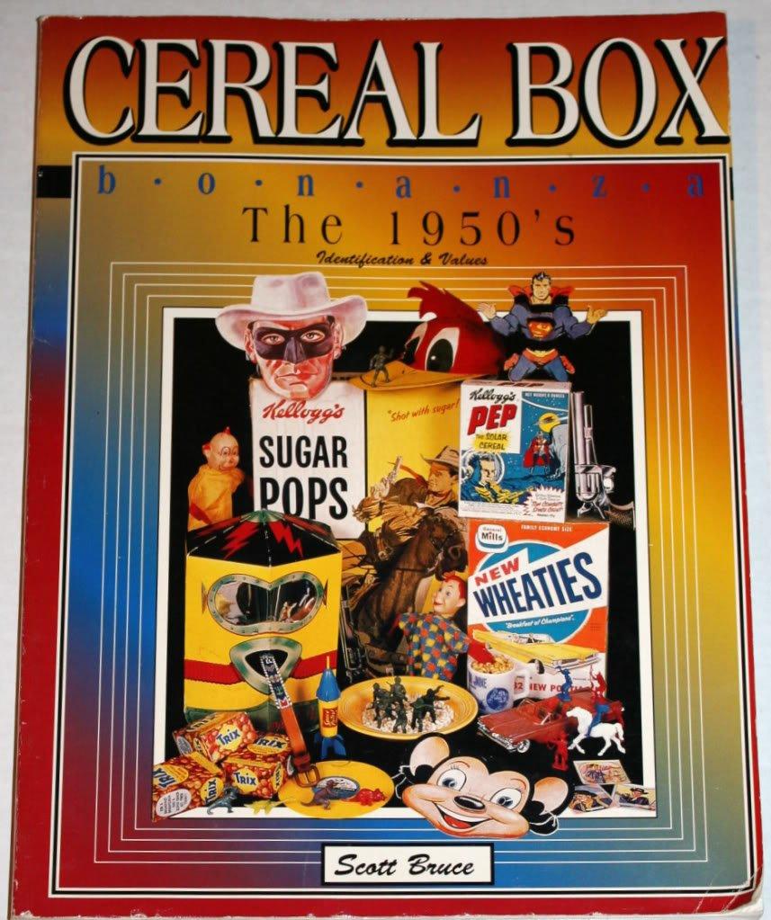 Cereal Box Bonanza the 1950's: Identification & Values