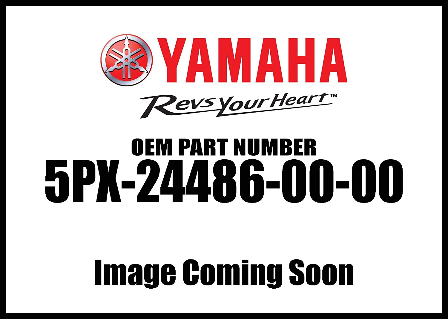 Yamaha 5PX-24486-00-00 O-Ring; ATV Motorcycle Snow Mobile Scooter Parts