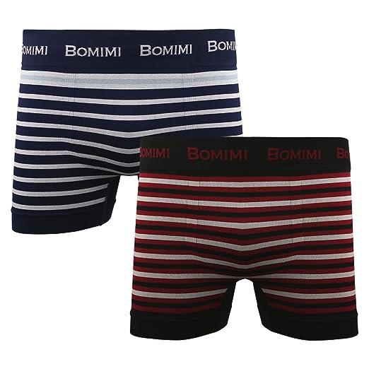 BOMIMI Men s Boxer Briefs Underwear Soft Stretch Short Leg No Ride ... 1080d05e8120