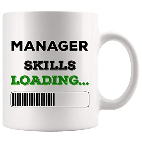 Amazon.com: Skills Loading Manager Mug Best Coffee Cup Mugs ...