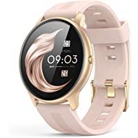 AGPTEK Smartwatch Mujer, Reloj Inteligente Deportivo 1.3 Pulgadas Táctil Completa IP68,…