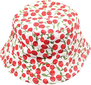 wuayi Baby Toddler Kids Breathable Sun Hat Floral Bucket Style Hats Helmet Cap