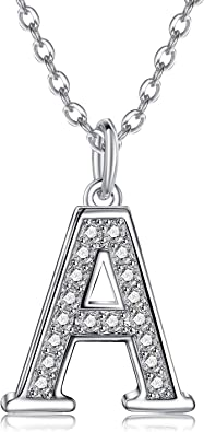 Alphabet Charm Letter Initial Sterling Silver Plated Charm Jump Ring or Lobster