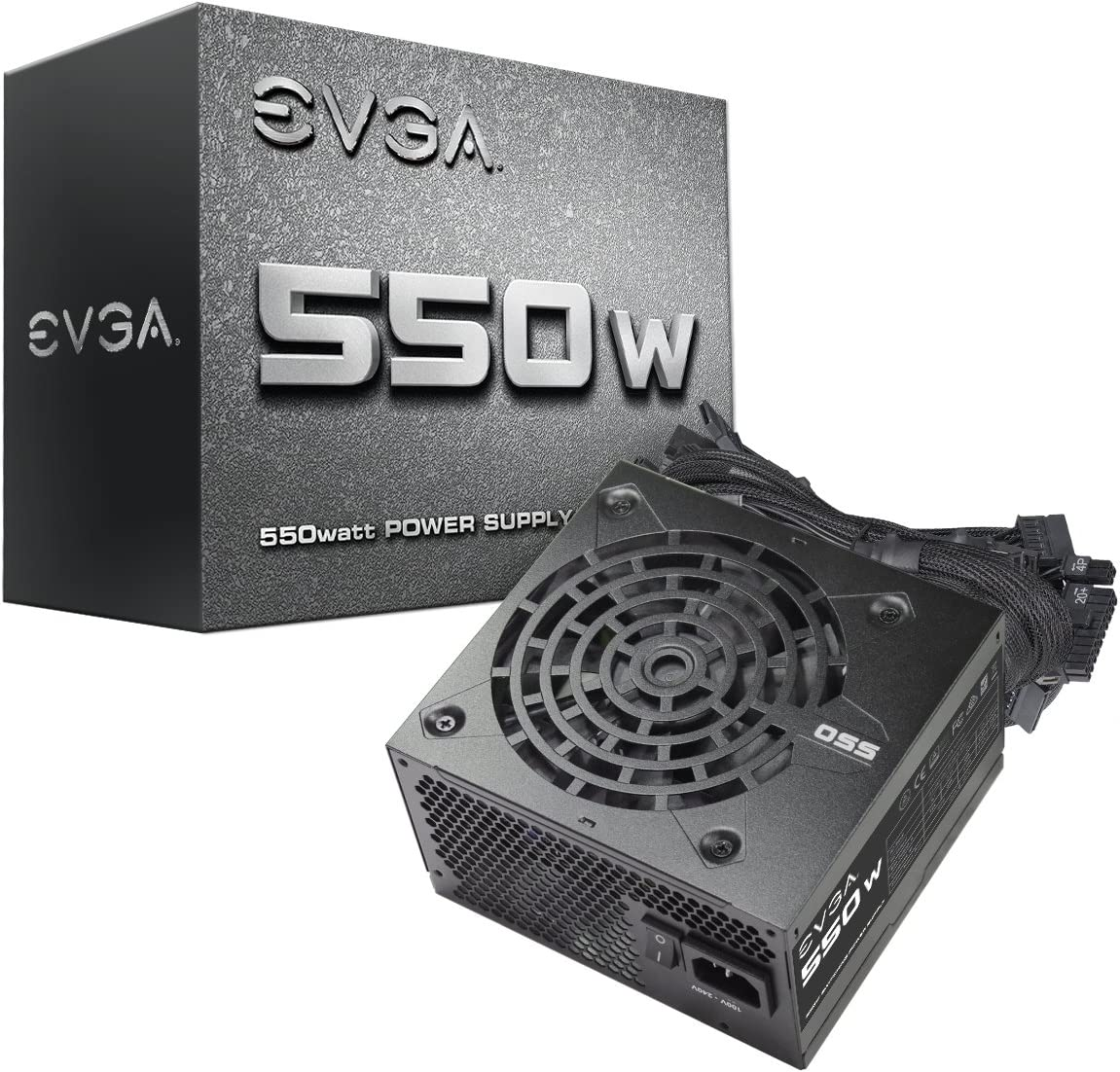 EVGA 100-N1-0550-L1 550W ATX12V EPS12V Power Supply