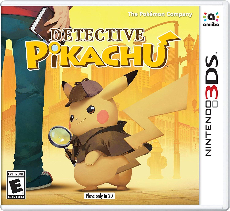 Amazon Com Detective Pikachu Nintendo 3ds Nintendo Of America